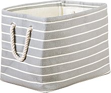 iDesign Luca Fabric Storage, Bin with Handles For