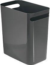 iDesign Plastic Bin with Handles, Slim Office Bin