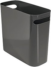 iDesign Plastic Bin with Handles, Small Office Bin