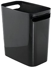 iDesign Plastic Bin with Handles, Small Office Bin