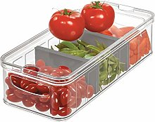 iDesign Plastic Refrigerator and Pantry Large