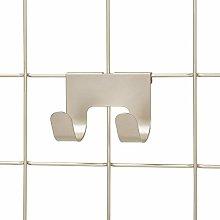 iDesign Set of 2 Double Wall Hooks for Modular