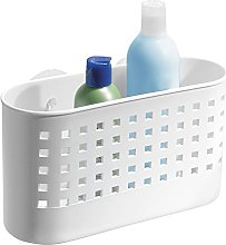 iDesign Shower Basket with Strong Suction Cups,
