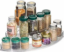 iDesign Spice Rack with 3 Tiers, Tiered Kitchen