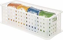 iDesign Storage Basket with Handles, Large