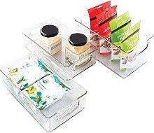 iDesign Storage Handles for Kitchen, Fridge,