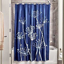 iDesign Thistle Shower Curtain, High Bathtub