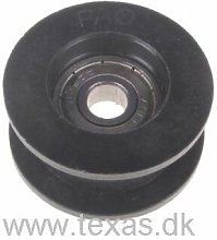 Idler pulley for various Texas tillers