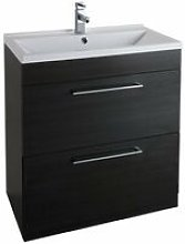 Idon 2-Drawer Free Standing Vanity Unit With Basin