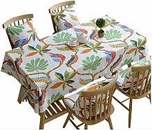 Idyllic Small Fresh Cotton Tablecloth Simple