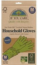 If You Care Fair Rubber Latex Household Gloves