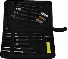 iFCOW 15Pcs Gun Cleaning Kit with Roll Pin Punch