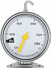 iFCOW Dial Oven Thermometer, Stainless Steel Large