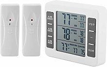 iFCOW Wireless Fridge Freezer Thermometer Digital