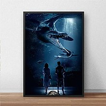 IFUNEW Canvas pictures Print Classic Movie Wall