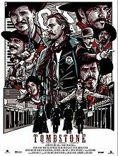 IFUNEW Wall art prints Tombstone Movie Art Print
