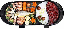 IG Barbecue Plate Electric Barbecue Indoor Hot Pot