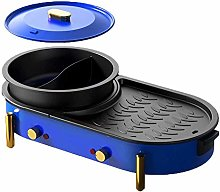 IG BBQ Barbecue Hot Pot Double Pot Electric Grill