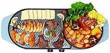 IG Electric Barbecue Indoor Teppanyaki Two-in-One