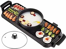 IG Electric Grill and Hot Pot 85Cm 2 In1