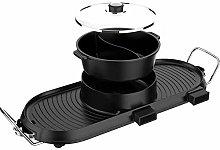IG Grill Electric Hot Pot Indoor 3000W 2 in 1