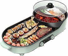 IG Multifunction Barbecue Pot Double Pot Electric