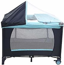 IG Portable Crib, Foldable Portable Baby Play Bed