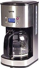 Igenix IG8250 Digital Filter Coffee Maker, 12 Cup