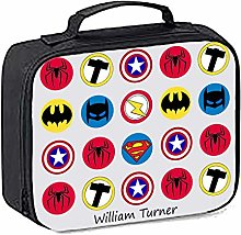 igerlilyprints Marvel Insulated PersonalisedLunch