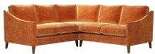 Iggy Small Corner Sofa in Ganges Roosevelt Velvet