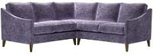 Iggy Small Corner Sofa in Thistle Roosevelt Velvet