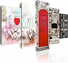 IGNIUBI 5 Pieces Home Print Colorful Wall Art
