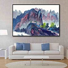 IGNIUBI Abstract Wall Art Chinese Oil Painting