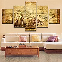 IGNIUBI Canvas Painting Print Poster Wall HD Art