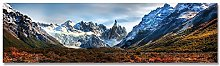 IGNIUBI Landscape Poster Canvas Print Mountain