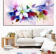 IGNIUBI Large Size 3D Watercolor Flower Abstract