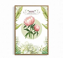 IGNIUBI Rose Sunflowers Poster Nordic Flowers HD