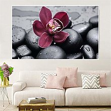 IGNIUBI Wall Art Canvas Painting Orchid Pictures