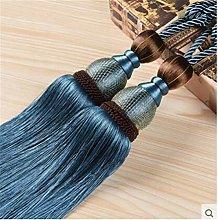 IHC Handmade Curtain Clips Rope Tie Band VS Lob