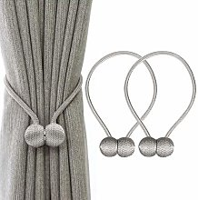 IHClink 2 Pieces Magnetic Curtain Tiebacks Curtain