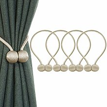 IHClink 4 Pieces Magnetic Curtain Tiebacks Buckle