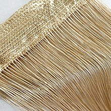 IHEHUA 1 PC String Curtains Patio Net Fringe for