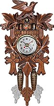 IHEHUA Cuckoo Clock Traditional Wooden Handcrafted