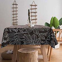 Ihoming Tablecloth Heavyweight Vintage Burlap