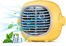 IIKIKU Portable Air Cooler, Mobile Air