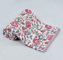 iinfinize Toddler Cotton Quilt Neutral Baby Quilt