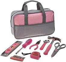 IIT 89808 9 Piece Ladies Tool Bag, Pink