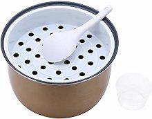 iixpin Cooking Pot Inner Nonstick Interior Coated