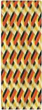 Ikat Runner Rug, 2'x5', Oriental Design