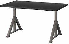 IKEA.. 192.810.24 Idåsen Desk, Black, Dark Gray